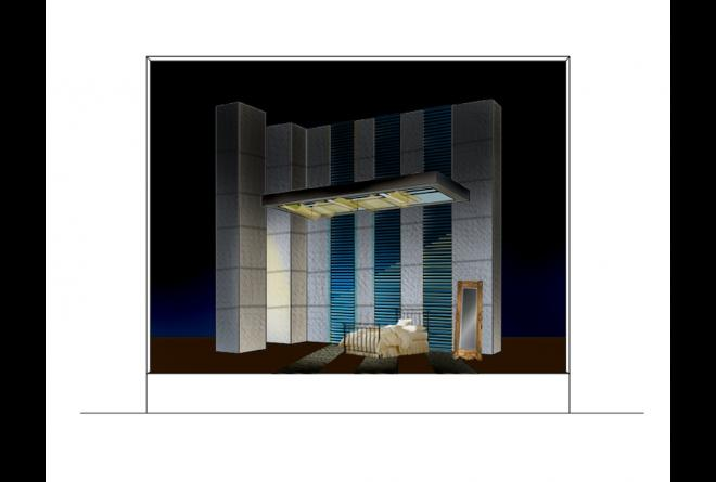 Traviata, Act 3 - Computer Rendering